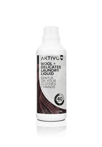 AKTIVO WOOL + DELICATES LAUNDRY LIQUID 1lt