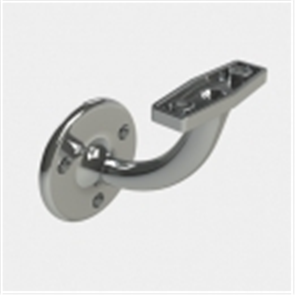 BRACKET HAND RAIL CHROME PLATED 60mm