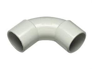 CONDUIT GREY MEDIUM DUTY STANDARD BEND 25mm