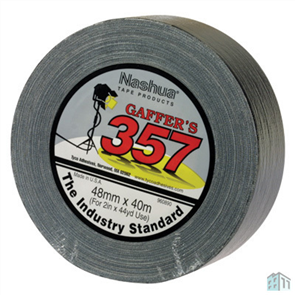TAPE GAFFER (GAFFA) # 357 HEAVY DUTY 48mm x 40M