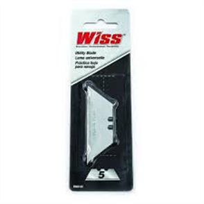 KNIFE BLADES WISS HD TRIMMING KNIFE 5Pce