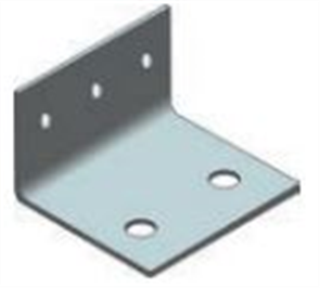 STAIR STRINGER HD GALVANISED BOLT DOWN BRACKET