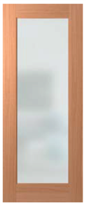 HUME DOOR JST1 JOINERY SPM (STAIN GRADE) 4mm GLAZED CLEAR (with SAFETY DECALS)