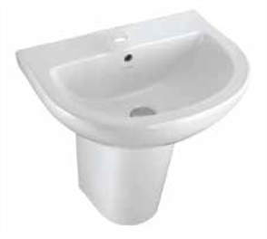 BASIN WALL COMO 1TH PLASTIC P&W 525 X 425mm