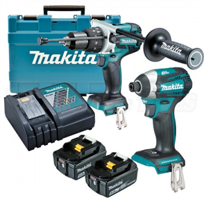 MAKITA DLX2176T HAMMER DRILL KIT