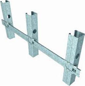 STEEL NOGGING CONTINOUS BRACKET #501 0.75BMT - 2400mm