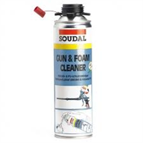SOUDAL GUN & FOAM CLEANER - SCREW TOP 500ml