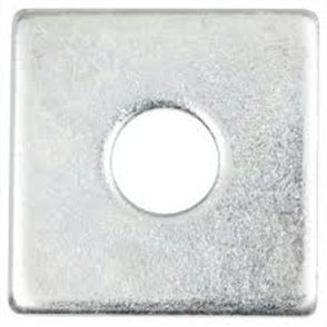 WASHERS FLAT SQUARE GALVANISED EACH