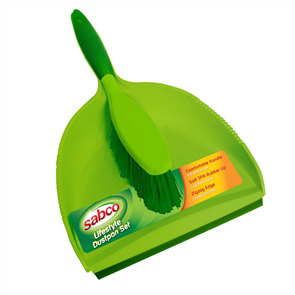 DUSTPAN & BRUSH SET SABCO