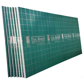 FOILBOARD GREEN INSULATION