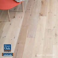 ELEGANT OAK - ENGINEERED FRENCH OAK FLOORING SMOULDERED 189 x 15mm