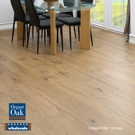 ELEGANT OAK - ENGINEERED FRENCH OAK FLOORING VINTAGE 189 x 15mm
