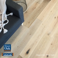 ELEGANT OAK - ENGINEERED FRENCH OAK FLOORING WHITE WASH 189 x 15mm