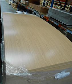 WALL PANELLING (MDF) WOODGRAIN 2440 X 1220 X 3mm