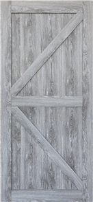 HUME DOOR BARN FRONTIER RUSTIC 2150 x 1000 x 35mm