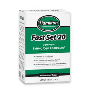 HAMILTON FAST SET COMPOUND 2KG -