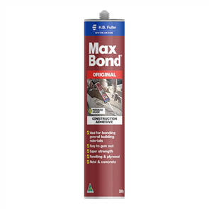 MAXBOND CONSTRUCTION ADHESIVE CARTRIDE 320g