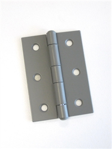 HINGE STEEL BUTT  LOOSE PIN POWDER COATED 100 x 75 x 1.6mm