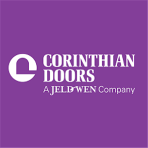 CORINTHIAN PART - PREHUNG HINGE BRIGHT CHROME