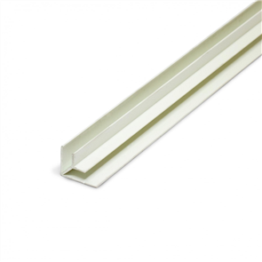 PVC CORNER MOULD INTERNAL JOINT WHITE 4.5mm x 2400mm