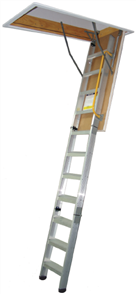 LADDER ATTIC ALUMINIUM