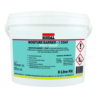 SOUDAL MOISTURE BARRIER 1 COAT KIT 8lt