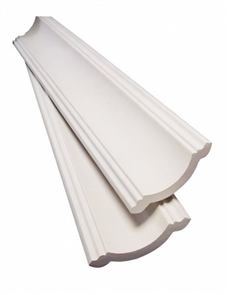 PLASTERBOARD CORNICE 'NEW YORK' 90mm x 4.2M