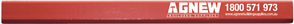 PENCIL CARPENTERS RED MEDIUM