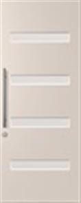 DOOR PMAD 104 GLAZED CLEAR 2040 x 820 x 40mm