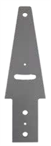 RETAINING WALL FENCING BRACKET (inc. NUT, BOLT & WASHER) 6mm