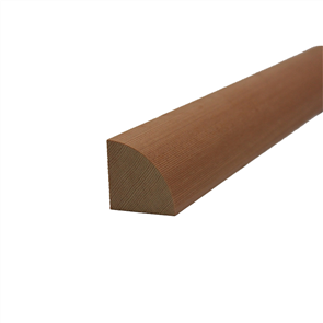 WESTERN RED CEDAR QUAD RANDOM LENGTHS 18 x 18mm (DLTD)