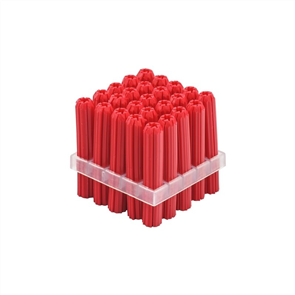 WALL PLUGS RED 6mm PK25