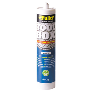 INSULCLAD (TOOLBOX) SEALANT & ADHESIVE WHITE 400g