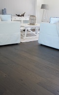 CLIC OAK - ENGINEERED EUROPEAN OAK FLOORING SLATE GREY 185 x 13.5