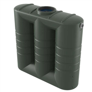BUSHMANS TANK (SLIMLINE) AND PUMP (BIANCO) PACKAGE (TANK WATER ONLY) 2000lt
