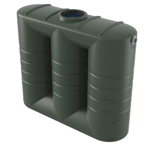 BUSHMANS TANK (SLIMLINE) AND PUMP (BIANCO) PACKAGE (TANK  /  MAINS WATER) 3000lt
