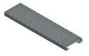 STAIR STRINGER HD GALVANISED PERFORATED TREAD 50 x 260 x 1000mm