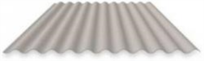 ROOFING - CORRUGATED IRON 0.42BMT ZINC (covers 762mm)