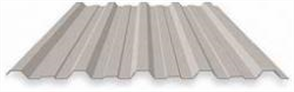 ROOFING - MONOCLAD 0.42BMT ZINC (covers 762mm)