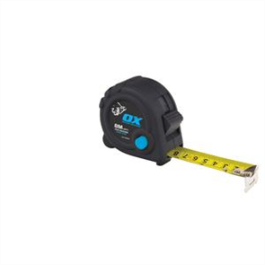TAPE MEASURE OX TRADE DURAGRIP