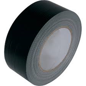 TAPE PVC DUCT BLACK 48mm x 30m