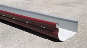 GUTTER - HI FRONT QUAD 115mm SLOTTED COLORBOND
