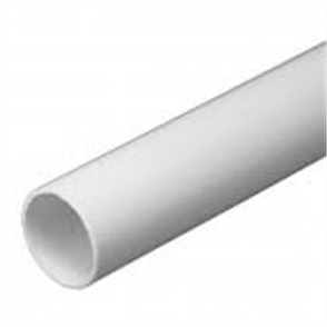 CONDUIT WHITE COMMUNICATIONS (TELSTRA) 20 x 4500mm