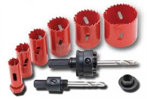 HOLESAW KIT CRESCENT KIT 9Pce