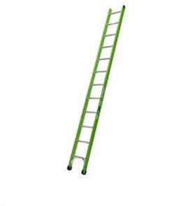 LADDER FIBREGLASS SINGLE SIDED GREEN 125kg