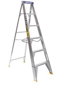 LADDER ALUMINIUM PRO SINGLE SIDED 150kg