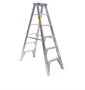LADDER ALUMINIUM PRO DOUBLE SIDED 150kg