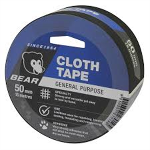 TAPE BEAR CLOTH 50mm x 15m