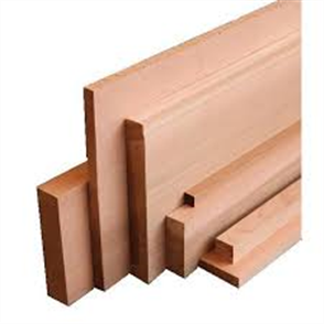 WESTERN RED CEDAR DAR RANDOM LENGTHS 18 x 18mm (DLTD)
