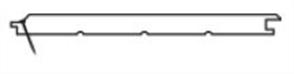 WESTERN RED CEDAR 12mm VEE JOINT COVERS 133mm RANDOM LENGTHS (DLTD)